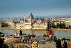 Budapest (majka44) Tags: city hungary budapest view architecture travel danube river tree light day memory building parliament