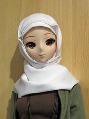 Learning to Sew (els82) Tags: smartdoll kurenai sewing hijab
