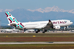 Air Italy Airbus A330-200 EI-GFX | Milano - Malpensa (MXP-LIMC) | 1st May 2019 (Brando Magnani) Tags: aircraft airplane landing aviation malpensa airbusa330 airbus airitaly