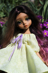 4H5A5343 (Yumi♡) Tags: bjd doll garden yumistudio spring flowers glacedolls 2019 yellowdress