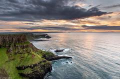 Causeway Coast (Donard850) Tags: northernireland causewaycoast cliffs sea giantscauseway sunset landscape seascape rocks geology