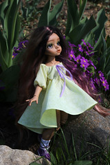 4H5A5359 (Yumi♡) Tags: bjd doll garden yumistudio spring flowers glacedolls 2019 yellowdress