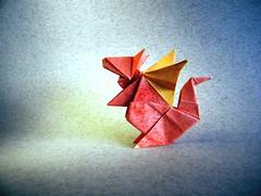Baby Dragon - Oriol Esteve (Rui.Roda) Tags: origami papiroflexia papierfalten bebe dragão baby dragon oriol esteve
