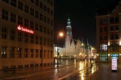 Wrocław city hall (2) (Krzysztof D.) Tags: wrocław dolnośląskie dolnyśląsk breslau polska poland polen architecture architektura rynek marketsquare marketplace ratusz rathaus cityhall night noc nacht evening wieczór abend