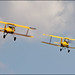 Boeing Stearman + deHavilland Tigermoth