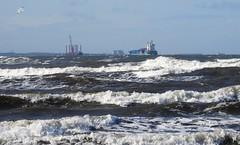 'Orion' Heading for Port of Blyth (Gilli8888) Tags: nikon p900 coolpix whitleybay tyneandwear northsea northtyneside coast coastal eastcoast sea seaside shoreline ship vessel orion portofblyth waves containership