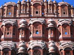 Jaipur, Awa Mahal (vittorio vida) Tags: india jaipur asia awamahal mahal building palace architecture windows pink history art travel