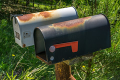 Mailboxes (agasfer) Tags: 2019 southcarolina sony a6000 sonye1850oss things rust travellersrest