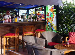 photo - The American Bar, Hotel Forum Rome (Jassy-50) Tags: photo rome italy hotelforum hotel theamericanbar americanbar bar hotelbar openair alfresco rooftopbar