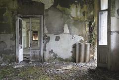 Sanatorio Relatività (Sean M Richardson) Tags: abandoned sanatorium decay nature texture italia dark light color canon photography explore urbex travel ruins green details