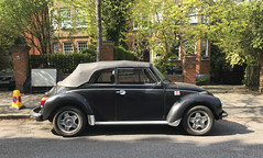vw cabriolet 2 (smallritual) Tags: vw volkswagen cabriolet karmann beetle 1973 london ealing