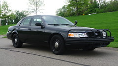 My Personal Crown Victoria (Emergency_Spotter) Tags: ford crown victoria p7b 2011 st thomas steelies cvpi