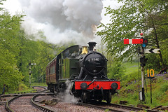 Dean Forest Local (Treflyn) Tags: great western gwr small prairie 262t 5541 steam local line norchard high level dean forest railway mike tyack photo charter
