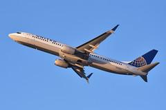 United 737 N75425 at SFO (Ian E. Abbott) Tags: boeing 737924erwl 737924 737900 737 unitedairlines ual n75425 33460 continentalairlines sanfranciscointernationalairport ksfo sfo