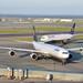 Lufthansa and Icelandair at SFO