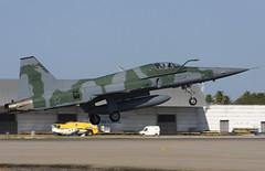F-5EM 4828 CLOFTING_MG_9021+FL (Chris Lofting) Tags: f5 f5em 4828 natal cruzex brazilian air force