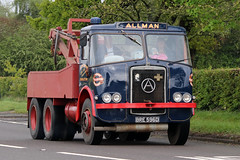 Atkinson Silver Knight Allman Transport BRE596D (NTG842) Tags: 2019 cheshire run classic vintage commercial vehicles trucks atkinson silver knight allman transport bre596d