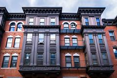 Boston Building Facade (pa_cosgrove) Tags: bostonkevin building facade architecture patterns brick windows fuji fujifilm xt30 columns wall city