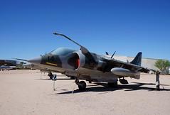 Hawker Siddeley AV-8C Harrier (s81c) Tags: airplane aircraft militaryaviation pimaairspacemuseum tucson arizona usa hawkersiddeley hawkersiddeleyav8charrier harrier