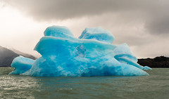 Iceberg on the Lago Argentino (davidthegray) Tags: estancia argentina argentino cristina patagonia hielo lago dipartimentodilagoargentino provinciadisantacruz
