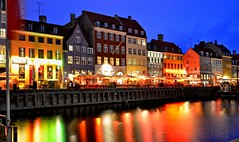 Nyhavn (vmribeiro.net) Tags: copenhaga copenhagen dinamarca denmark danmark nyhavn night nocturne nikon d7000
