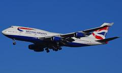 G-BYGG (a) 02/01/15 Heathrow (EGLL) (Lowflyer1948) Tags: gbygg boeing b747436 020115 heathrow cranford britishairways