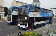 10966 SN18KOV (PD3.) Tags: 10952 10966 sn18kov sn18 kov worthing west sussex england uk bus buses psv pcv stagecoach south downs adl enviro 400 mmc coastliner 700