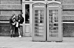Look Up What They Are (jaykay72.) Tags: london uk street candid streetphotography ludgatehill stphotographia blackandwhite bw
