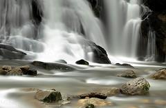 La pierre trouée -  Pierced stone (paul.porral) Tags: flickr ngc waterfall wasserfall cascade landscape water nature poselongue longexposure countryside outside stones