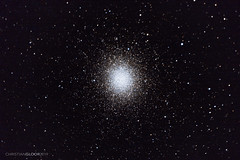 Omega Centauri (NGC 5139) (Christian Gloor (mostly) underwater photographer) Tags: omega centauri ngc 5139 cluster astrophotography space night telescope celestron