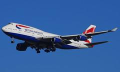 G-CIVA (b) 02/01/15 Heathrow (EGLL) (Lowflyer1948) Tags: gciva boeing b747436 020115 heathrow cranford britishairways