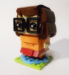 Mystery Inc BHz - Velma Dinkley (Iggy X) Tags: lego moc brickheadz scooby doo mystery inc incorporated velma dinkley nerd detective