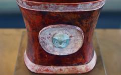 Pottery 19 (orientalizing) Tags: center casadelalabado archaia museodearteprecolombino museum precolumbian ceramics sculpture ecuador quito prehistoric