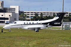2019-02-15 PBI N361AS (Paul-H100) Tags: 20190215 pbi n361as embraer phenom 300 executive airshare