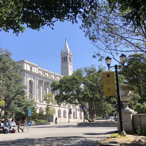 Midday on Campus, UC Berkeley
