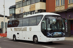 Photoflash Travel, Carluke (SW) - L5 BUS (WRC 721, RY08 EFF, J19 TRU) (peco59) Tags: l5bus j19tru ry08eff wrc751 auwerter neoplan n2216shd n2216 tourliner photo photoflashtravelcarluke photoflashtravel psv pcv coach coaches photoflash truemanashvale truemanscoaches truemanstravel festivaltravelkirkliston festivaltravel