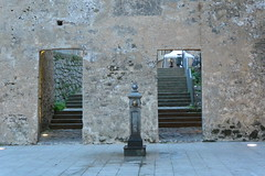 doorways to staircase (Hayashina) Tags: sardegna alghero italy doorway staircase wall
