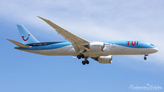 Malta International Airport (Redeemer_Saliba) Tags: 7879 malta boeing tui airlines lmml luqa airport landing rwy13 gtuil 787 g