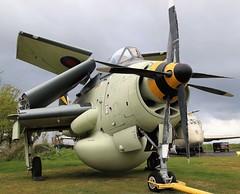 FAIREY GANNET YORKSHIRE AIR MUSEUM ELVINGTON (toowoomba surfer) Tags: aircraft aviation aeroplane museum airmuseum aviationmuseum
