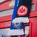 Eintracht Frankfurt - Europa Lge semi-final v Chelsea - Red telephone box with scarves