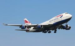 G-BYGF Boeing 747-436 British Airways (R.K.C. Photography) Tags: gbygf boeing 747436 b747 british britishairways ba baw speedbird aircraft aviation airliner london england unitedkingdom uk 09l londonheathrowairport lhr egll canoneos100d