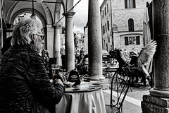 aperitif for four (Franco-Iannello) Tags: blackwhite blackandwhite streetphotography people