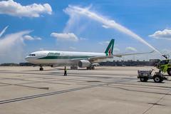 EI-EJO Alitalia A330-200 (Dulles_Aviation) Tags: alitalia plane airbus aircraft airport a330 az rometowashington airbusa330 dulles mwaa yesalitalia planespotter