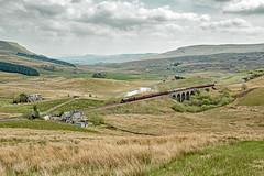 6201 at Lunds (Simon Lathlane) Tags: lms 6201 princess elizabeth the dalesman 30th april 2019 steam settle carlisle railway lunds viaduct