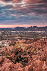 Magical Couple (BeNowMeHere) Tags: ifttt 500px trip back benowmehere cappadocia magic magicalcouple nature rockformation sky sunset tree turkey clouds kapadokya magical travel dramatic horizon moody dawn