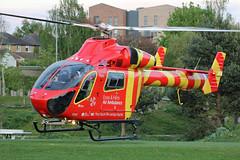 G-EHEM Essex & Herts Air Ambulance (kertappa) Tags: img8339 air ambulance herts hertfordshire essex hems doctor paramedics hospital gehem emergency helicopter harwoods adventurous playground watford