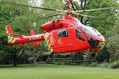 London's Air Ambulance in Chelsea (kertappa) Tags: img8149 air ambulance londons london hems doctor paramedics hospital gehms emergency helicopter kertappa chelsea