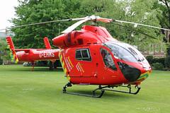 London's Air Ambulance in Chelsea (kertappa) Tags: img8049 air ambulance londons london hems doctor paramedics hospital gehms emergency helicopter kertappa chelsea