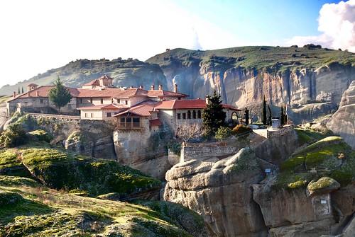 Hagios Stephanos Monastery, Meteora, Greece