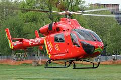 London's Air Ambulance in Shepherds Bush (kertappa) Tags: img7507 air ambulance londons london hems doctor paramedics hospital gehms emergency helicopter kertappa shepherds bush green